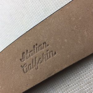 Lejon Accessories - Women's Lejom Belt Italian Calfskin Size XL Black